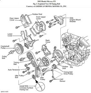 honda odyssey timing belt replacement