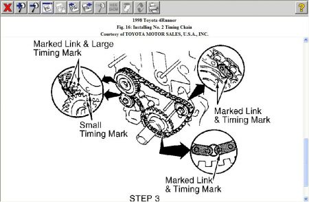 1998 Other Toyota Models Timing Chain: I Am Chaning Timing