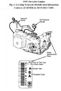 1990 Chevy Lumina Throttle Valve