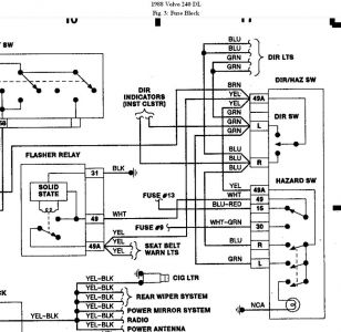 1988 Volvo 240 Dl Wiring Diagram, 1988, Free Engine Image