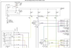 1993 Acura Integra Power Windows: Electrical Problem 1993 Acura
