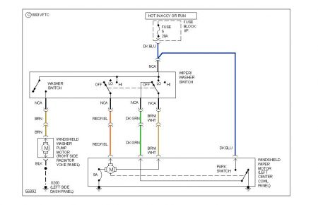 dodge windshield wiper motor wiring diagram wiring diagrams