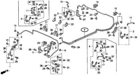1996 Honda Accord Rear Brake Line Leaking: I Was Changing