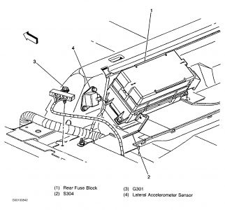 1999 Cadillac STS Air Compressor for Rear Shocks