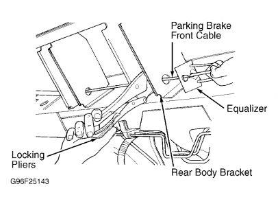 1998 Dodge Caravan Emergency Brake Handle Broken: the