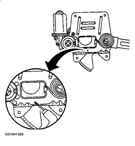 2002 GMC Sonoma Window Motor: Interior Problem 2002 GMC
