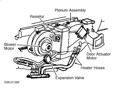 2000 Ford Expedition Rear Heater Core: Heater Problem 2000