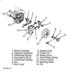 1994 Ford Aspire Image Brake System: Brakes Problem 1994