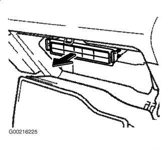 2002 Lexus ES 300 Cabin Air Filter Installation: Smells