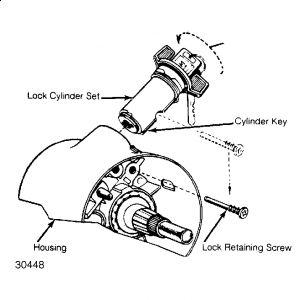 Service manual [1993 Chevrolet Sportvan G20 Removing