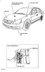 2005 Nissan Altima Few Funky Quirks: Electrical Problem