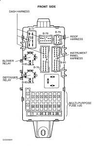 Wiring Diagram PDF: 2002 Mitsubishi Diamante Fuse Box