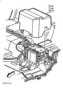 2003 Chevy Trailblazer AC Blower Motor: AC Blower Motor