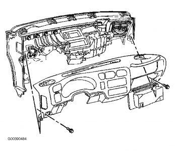1998 Chevy Blazer Condensation Coming Thru Upper Vents And