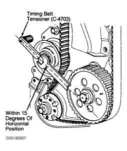 1995 Dodge Dakota How Do I Tighten a Timing Belt?