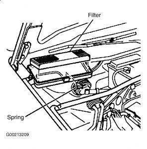 2002 Volkswagen Passat Air Cabin Filter: Help Me Locate