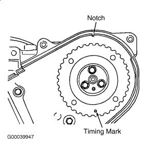 1990 Subaru Loyale Cam Timing: Engine Mechanical Problem