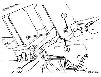 2006 Dodge Caravan Rear Brakes Shoes: Brakes Problem 2006