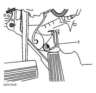 1998 Buick Park Avenue Actuator Door: Heater Problem 1998