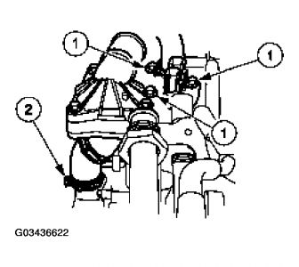 2001 Ford Ranger Thermostat: Engine Cooling Problem 2001