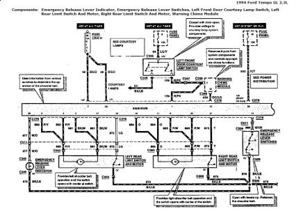 Ford Tempo Radio Wiring Diagram, Ford, Free Engine Image