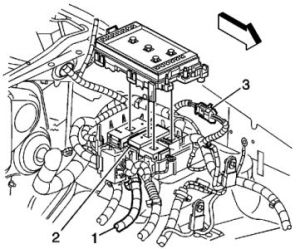 2005 Chevy Trailblazer Rear Heater: Hi, the Rear Heater Vents Just