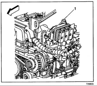 Coolant Temperature Sensor: Electrical Problem 6 Cyl Two