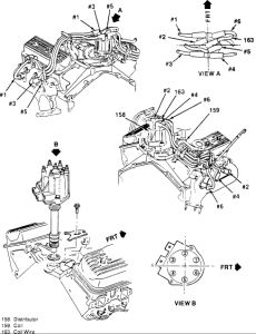 1994 Chevy S-10 Spark Plug Wiring: Electrical Problem 1994