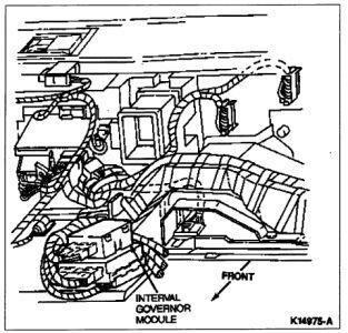 1992 Ford Crown Victoria Wiper Control Module: Were Is the