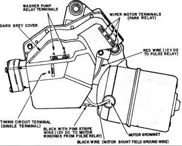 1983 Chevy Camaro Wiper Troubles: Electrical Problem 1983