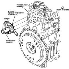 2000 Ford Focus Thermostat Diagram S10 Stereo Wiring 1991 Escort I Was Wondering If Anyone Out There Http Www 2carpros Com Forum Automotive Pictures 248015 1 91