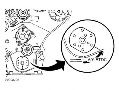 2001 Cadillac Catera: I Am Installing a New Timing Belt