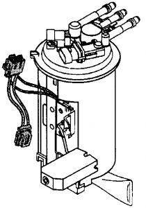 1998 GMC Jimmy Fuel Tank Presure Sensor Replacement