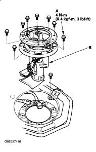 1998 Honda Accord Fuel: Hello Is Fuel Pump Located in the