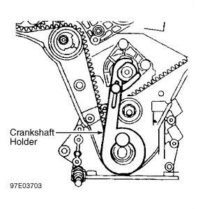 2001 Cadillac Catera: I Am Installing a New Timing Belt