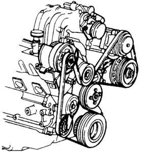 1994 Ford Explorer Replacing a Belt Tensioner: How Do I
