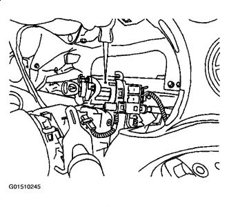 2003 Pontiac Grand Am Locking Steering Wheel: the Steering