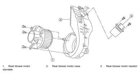 2012 Nissan Rogue Blower Motor 2011 Nissan Quest Blower