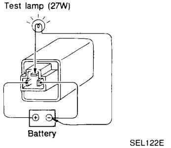 1997 Nissan Maxima Flasher/ Blinker Module: 1997 Nissan