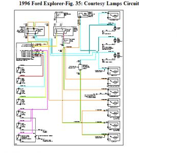 wiring diagram 1996 ford explorer ireleast info 1996 ford explorer wiring schematic jodebal wiring diagram