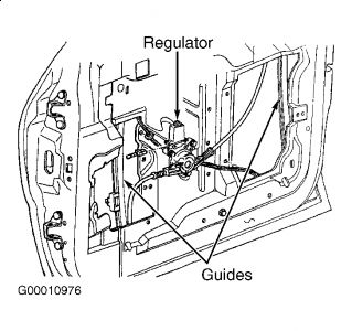 2002 Chrysler Van Window Motor: Electrical Problem 2002