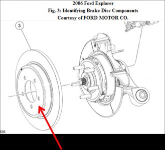 2006 Ford Explorer Rear Rotors: I Cannot Get the Rear