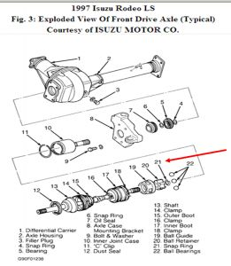 Service manual [How To Remove 1997 Isuzu Hombre Output