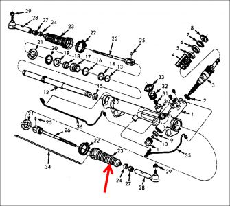 Ford Taurus Rack And Pinion Ford Rack And Pinion Diagram