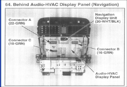 Acura Radio Wiring Diagram 2004 Acura Tsx Clock Pod And Nav Audio Lights Out