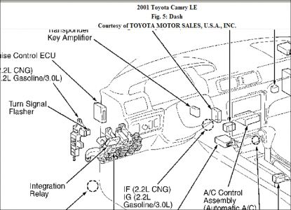 1997 toyota camry wiring diagram star delta diagrams tail light relay location electrical problem 4 cyl front wheel http www 2carpros com forum automotive pictures 248015 picture6 13