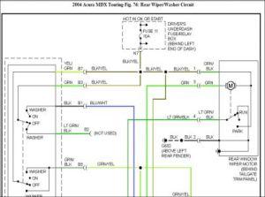 2004 Acura MDX Wiper System Problem: 2004 Acura MDX My