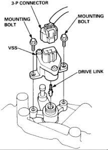 1994 Honda Accord Cooling Fan + Speedometer+ Transmision