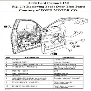 2007 Ford F150 Mirror Wiring Diagram 2007 Ford F150 Door