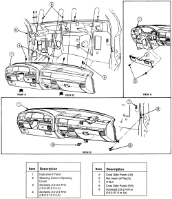 Ford Excursion Heater Core Diagram, Ford, Free Engine